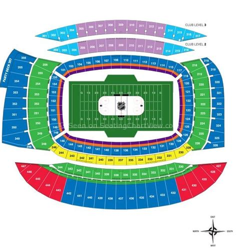 chicago bears stadium seating capacity soldier field chicago il seating chart view