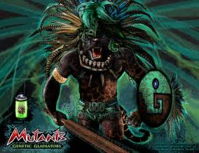 Aztec Jaguar God Jaguar God Mutants Genetic Gladiators By Jsundmint On