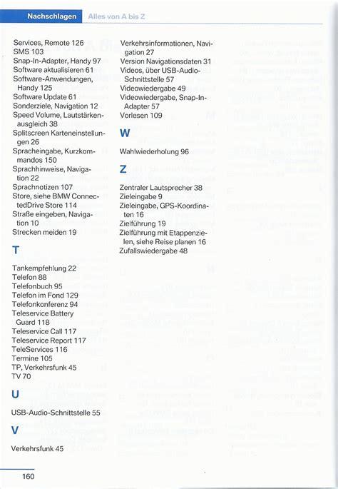 Bmw 1er Cabrio Handbuch by Bmw 2015 Navigation Entertainment Kommunikation