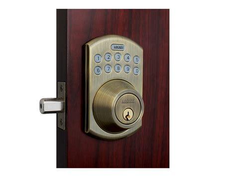 deadbolt electronic lock front door combination lock
