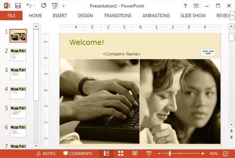 orientation powerpoint template best free corporate powerpoint templates