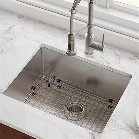 Kraus Usa Sinks by Kraus Standart Pro 23 Inch 16 Undermount Single Bowl