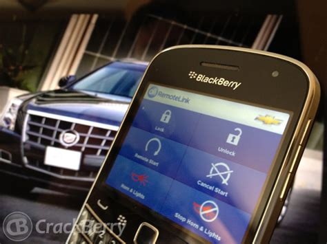 Onstar Unlock Doors by Remote Your Car With The Onstar App For Blackberry