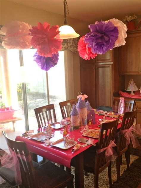 table decoration ideas for birthday party princess themed birthday party events to celebrate