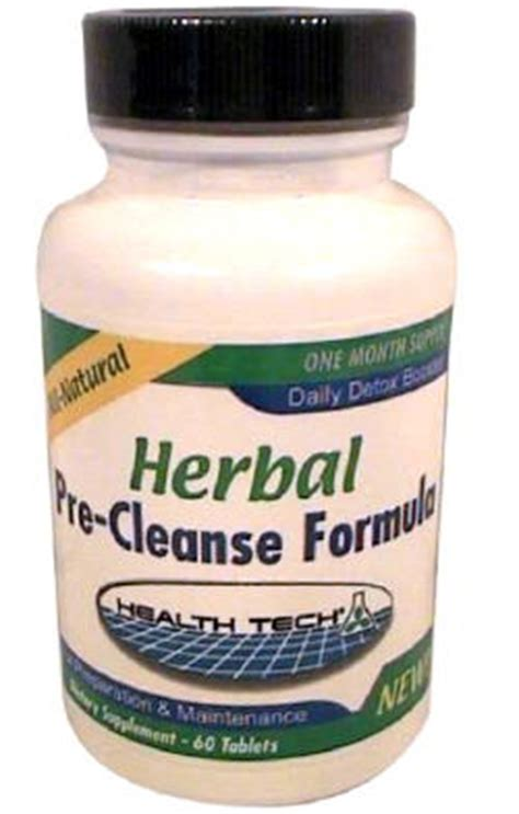 Pre Cleanse Detox Pills by Herbal Pre Cleanse Formula Clear Choice 174 Detox