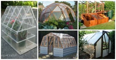 easy diy greenhouses   plans  creative ideas
