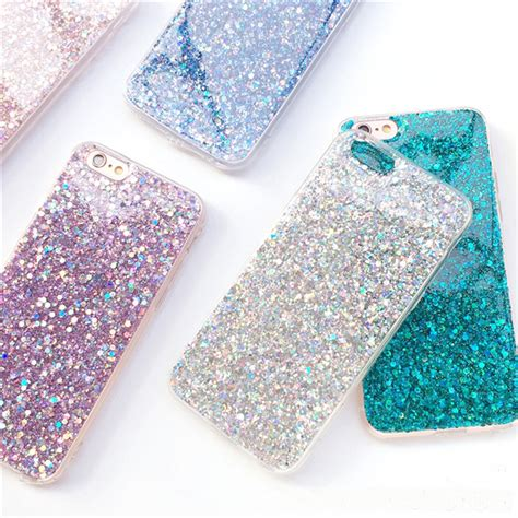 Best Casing Cover Iphone Glitter Iphone 7 Plus Ultra Thin Sof glitter iphone x 8 7 6 6s plus silicone ips706 cheap cell phone with