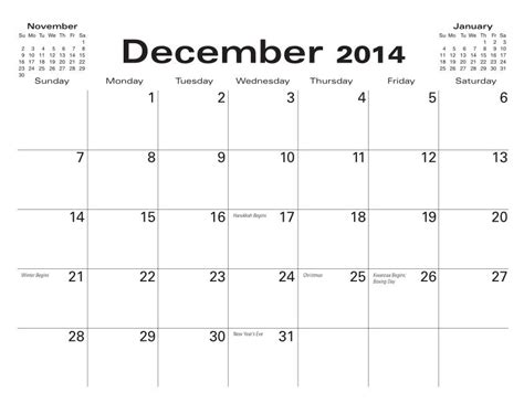 blank december 2014 calendar template size december 2014 calendar blank search results