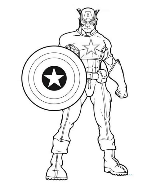 printable coloring pages captain america coloring pages best coloring pages for