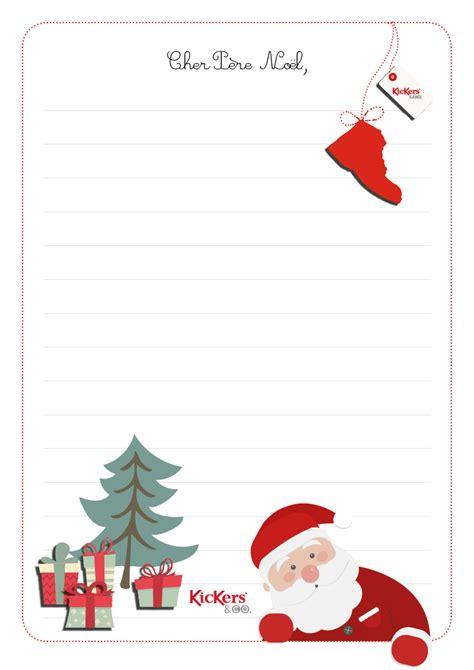 Modèle De Lettre Du Père Noel Pour Pr 233 Parer La Liste De No 235 L On Pense Aux Enfants En Proposant Une Lettre 224 Envoyer Au P 232 Re