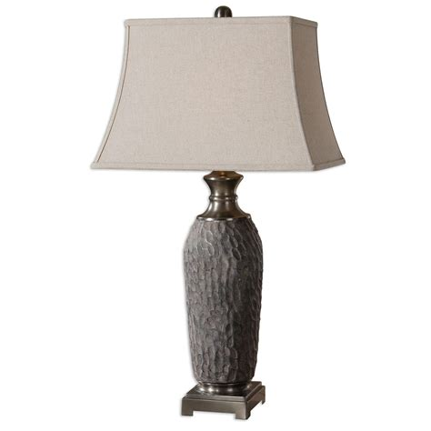 Rustic Table Lamps: Tricarico Table Lamp Black Forest Decor