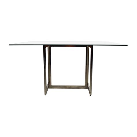 Hicks Glass Top Dining Table Furnishare Buy And Sell Used Furniture