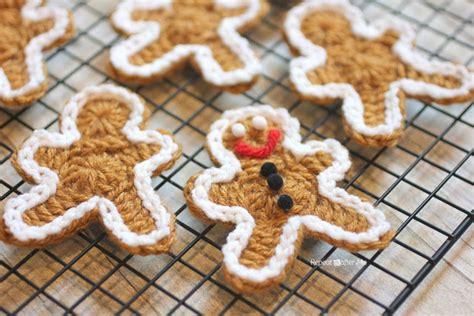crochet pattern gingerbread man crochet boobs for cancer pt crocheted gingerbread man