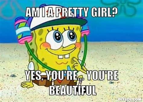 Spongebob Squarepants Meme Generator - spongebob meme spongebob meme generator am i a pretty