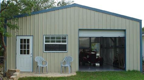Steel Metal Garage Buildings, Pros and Cons