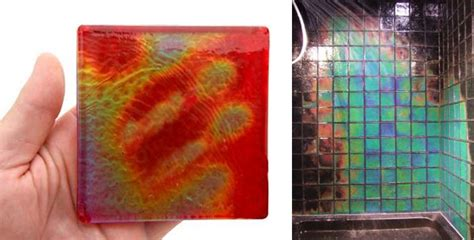 heat sensitive tiles learning from temperature sensitive materials material