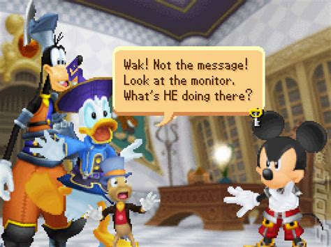 kingdom hearts re coded is that mickey in your pocket kingdom hearts re coded