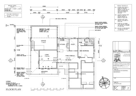 floor plan detail drawing geoff driscoll architects current projects