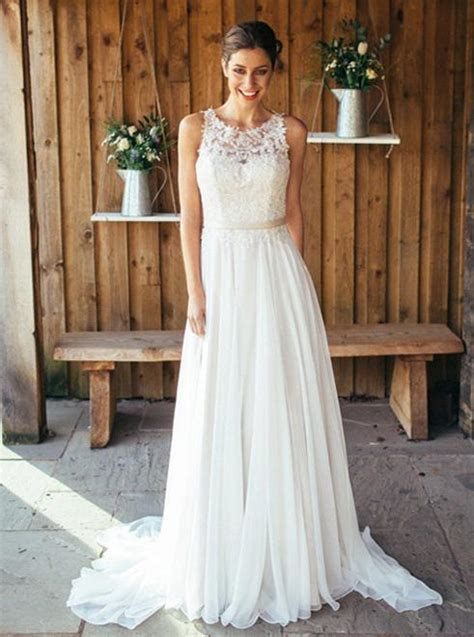 boho wedding dressesbeach wedding dresschiffon bridal
