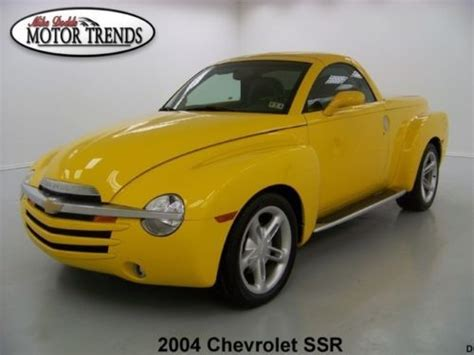 auto body repair training 2005 chevrolet ssr navigation system buy used 11k miles 2004 chevy ssr leather heated seats gauges bed kit running boards in alvin