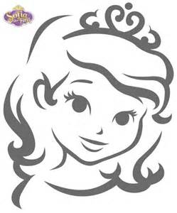 princess sofia template sofia the inspired pumpkin template calabazas