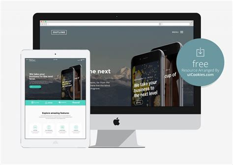 html5 application template top 100 free html5 responsive bootstrap themes