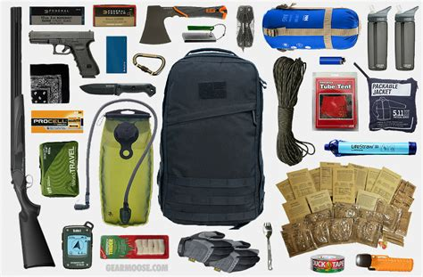 53 essential bug out bag supplies how to build a suburban go bag you can rely upon books bug out bag 4 gearmoose