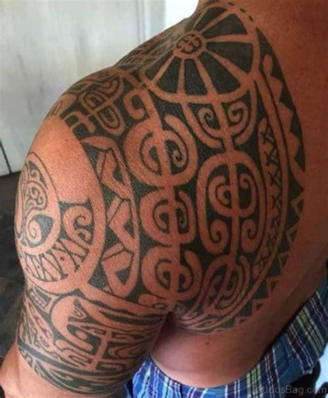 68 Perfect Samoan Shoulder Tattoos | 68 perfect samoan shoulder tattoos