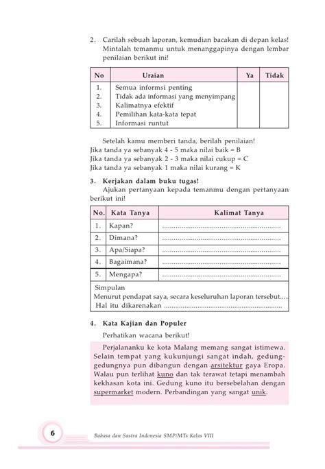 membuat sinopsis novel terjemahan kelas viii smp bahasa indonesia maryati