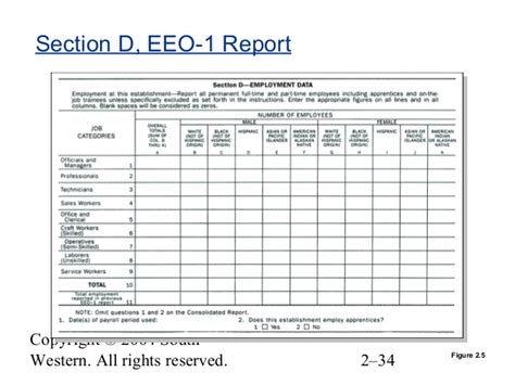 eeo 1 report template sle eeo 1 report sle eeo 1 report table 5 white