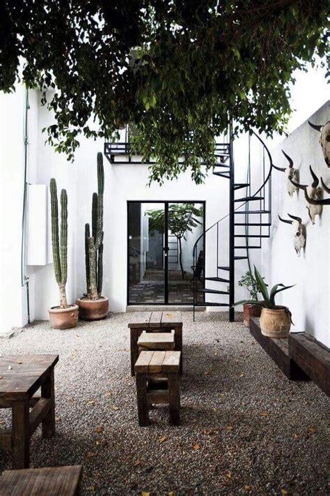 patio interior medidas cactussen in de tuin inrichting huis