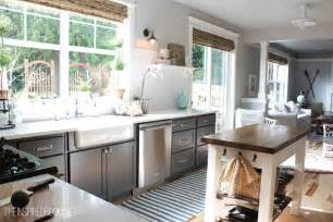 Roman Shades For Sliding Patio Doors - bamboo blinds kitchen project the inspired room