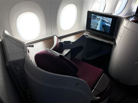 hours aboard qatar  business class   lets fly