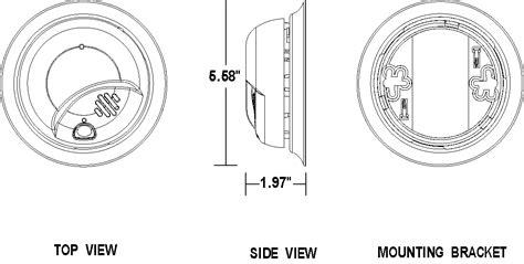 smoke detector circuit diagram pdf firstalert ac smoke alarm with battery backup