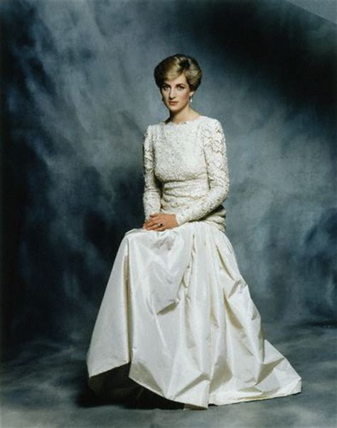 Diana Burial by Official Diana Princess Of Wales Portrait By Terence