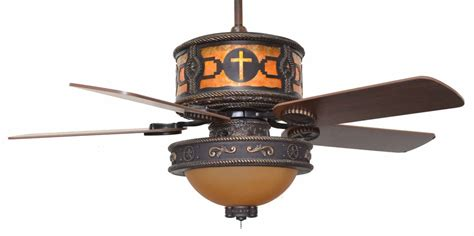 cc kvshr brz lk515 cross cross western ceiling fan