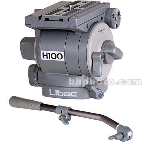 Tripod Libec Second libec h100 professional fluid w ph 7 pan handle h100 b h