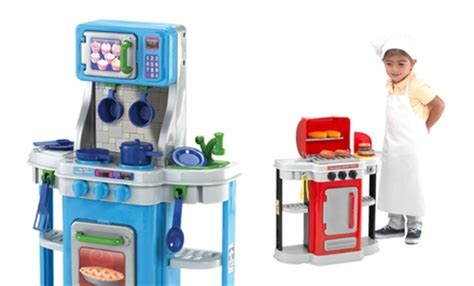 Chillin Grillin Kitchen Play Set Kitchen And Bbq Play Set Groupon Goods