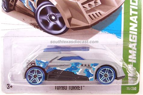 Diecast Wheels Turbo Turret Hitam wheels guide turbo turret