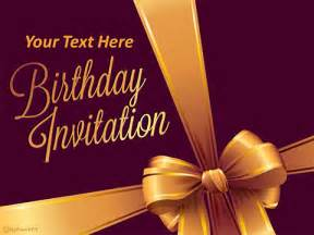 birthday invitation background templates free template powerpoint templates myfreeppt