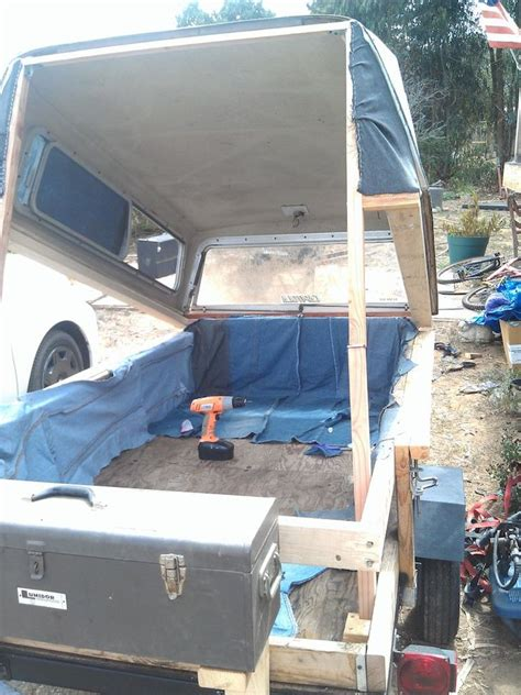 diy truck bed tent homemade pop up tent cer made from recycled items