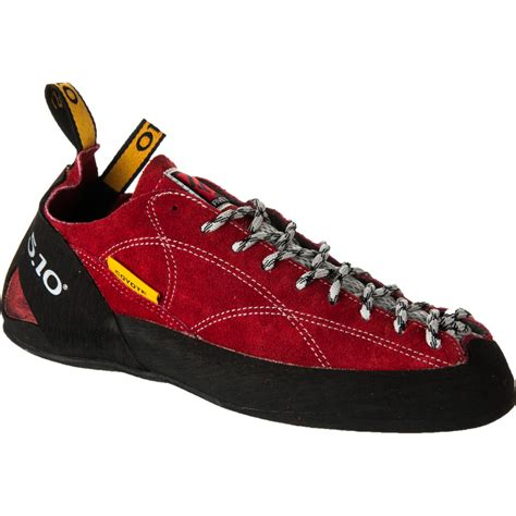 5 10 rock climbing shoes five ten coyote lace up climbing shoe 2013 backcountry
