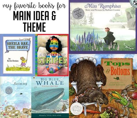list of picture books to teach theme 25 best ideas about teaching idea on