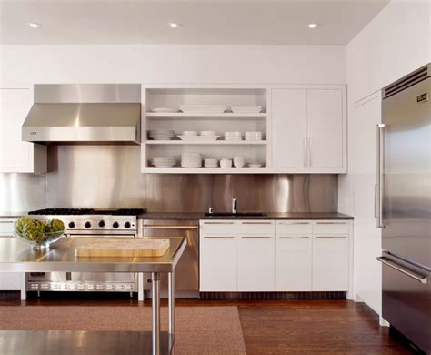Open Shelving Kitchen Cabinets 10 Sparkling Kitchens With Open Shelving