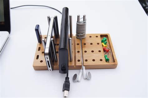 Modular Desk Organizer Modo Modular Desktop Organizer Gearmoose