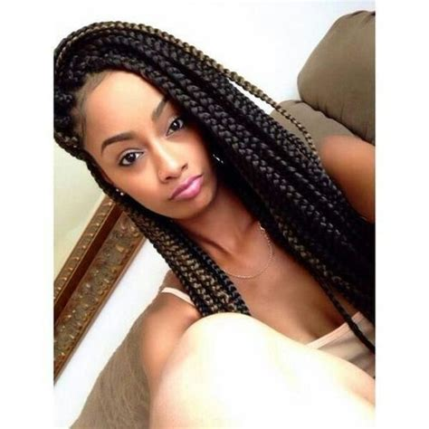 Box Braids Hairstyle Human Hair Or Synthtic | synthetic hair vs human hair box braids kind of hair
