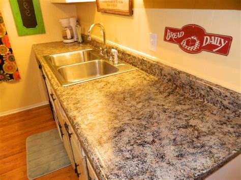 How To Refurbish Countertops by How To Redo Kitchen Countertops The Busy Broad Diy