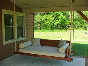 porch swing beds porch swing bed plans