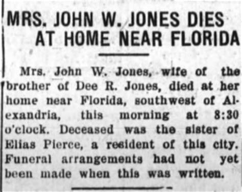 obituary margaret jones alexandria times