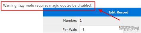 Magic Quotes Gpc Htaccess
